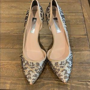 INC size 8 sparkle heels